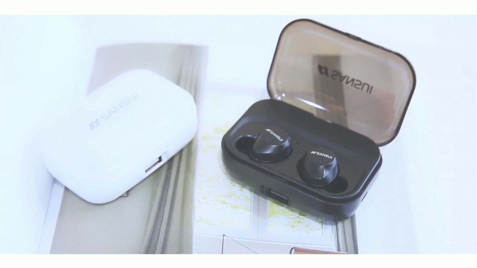 藍牙耳機產品展示視頻