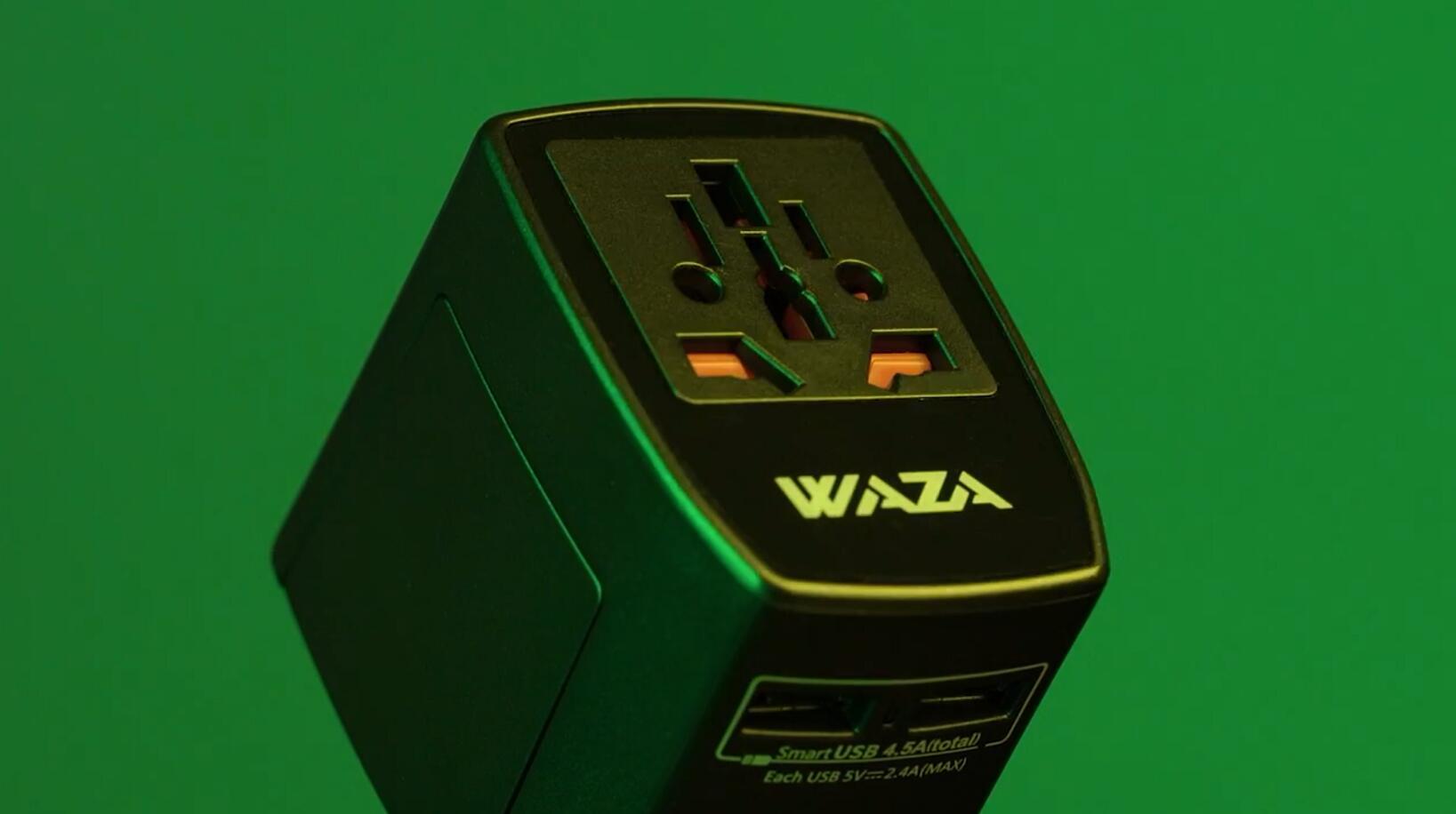 WAZA旅行插頭 產品宣傳片