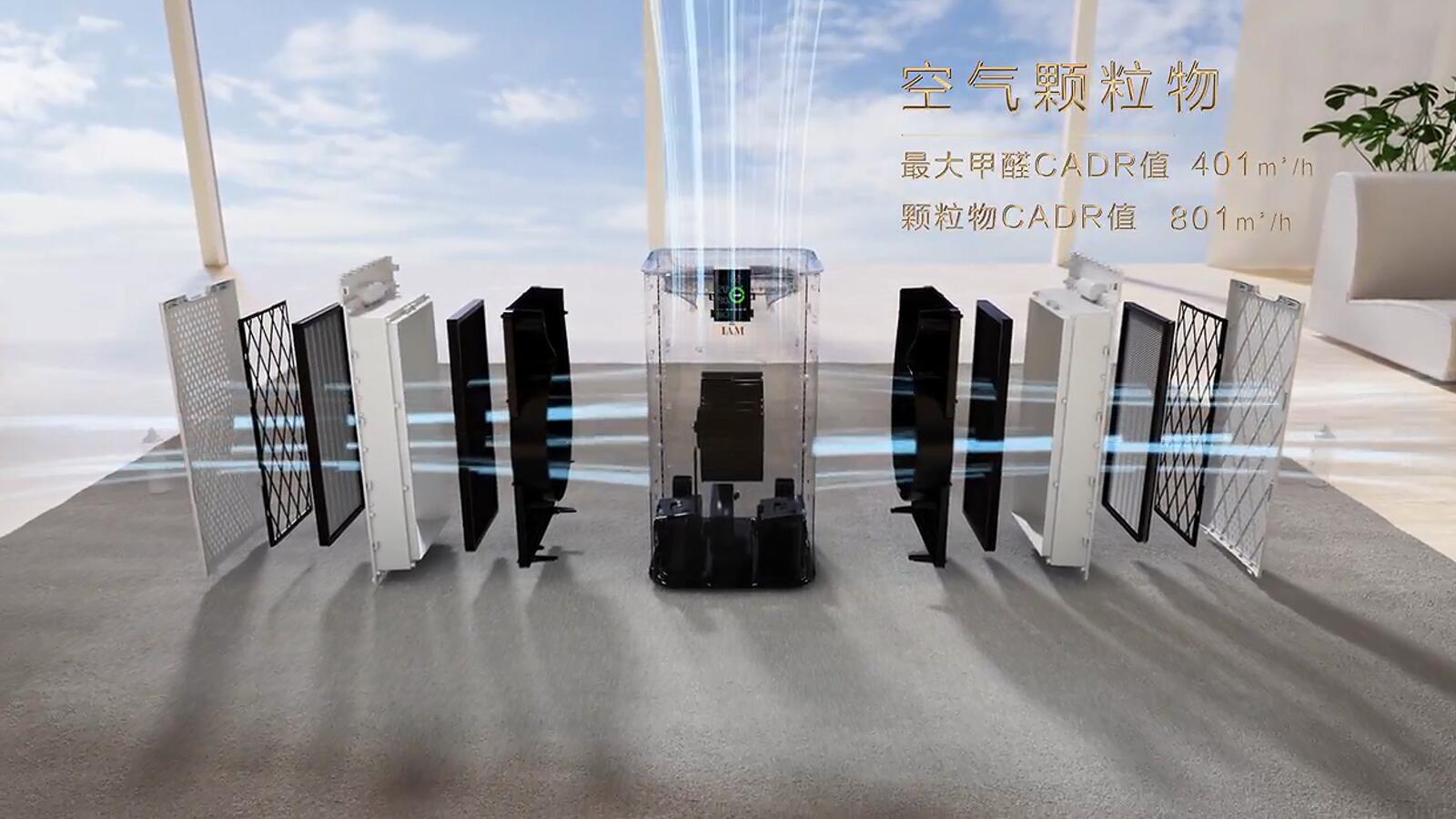 IAM空氣凈化器 產品宣傳片