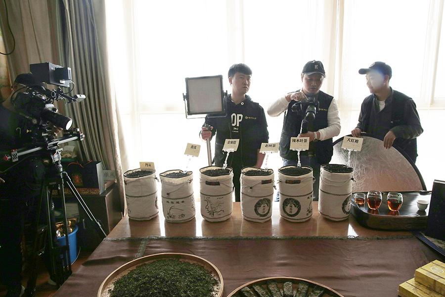 仙喜·辣木茯茶bob体育官方平台拍摄