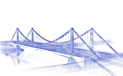 桥梁施工三维动画制作