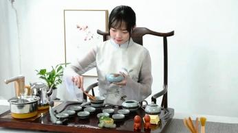 功夫茶具产品展示视频