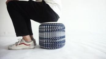 蓝印白花凳产品展示视频