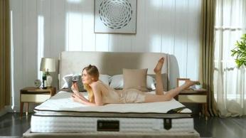 弹簧床垫产品展示视频
