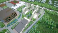 中航天建设 学院工程三维动画